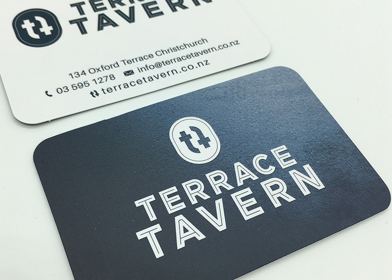logo design for terrace tavern in christchurch