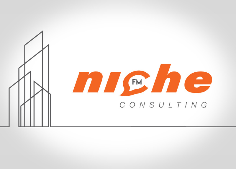 logo design christchurch for nichefm consulting