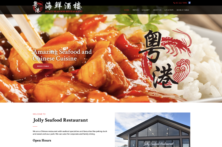 website for jolly seafood Christchurch